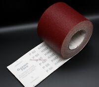 Hook and Loop Sandpaper Roll 115MM Grade Grits 40 60 80 100 120 150 180 220 240