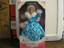 1996 WINTER RENAISSANCE BARBIE EVENING ELEGANCE SERIES SPECIAL EDITION--AGES 3 +