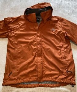 The North Face Windbreaker Jacket XL Orange