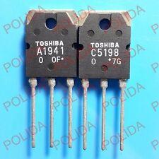 10PAIRS OR 20PCS Transistor TOSHIBA TO-3P 2SA1941/2SC5198 A1941/C5198
