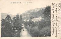 BAULME-la-ROCHE - avenue du château