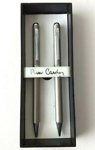 Pierre Cardin Champagne Pen + Mechanical Pencil Set in Box