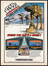 THE EMPIRE STRIKES BACK__Orig. 1982 Print AD / game promo_Parker Bros_Atari 2600