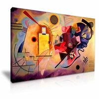 KANDINSKY CANVAS WALL ART PICTURE PRINT VARIOUS SIZES
