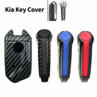 4 buttons Silicone Car Remote Key Fob Cover Case For Kia Stinger K900 2017 2018