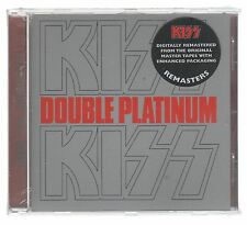KISS DOUBLE PLATINUM CD SIGILLATO!!!