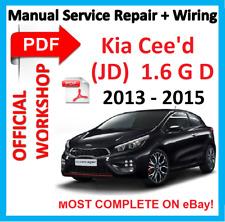 # OFFICIAL WORKSHOP MANUAL service repair FOR KIA CEED II MK2 JD 2012 - 2017