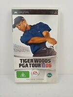 Tiger Woods PGA Tour 06 (Sony PSP, 2005) Complete Manual Tested and Works