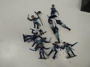 54mm plastic ACW figures Cherilea