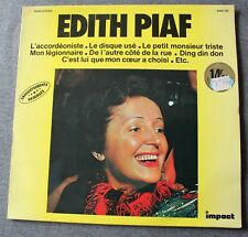 Edith Piaf, l'accordeoniste ,  LP - 33 Tours impact