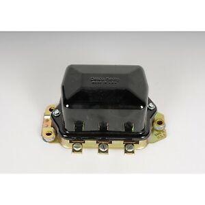 D618 AC Delco Voltage Regulator New for Chevy Olds De Ville Series 60 75 SaVana