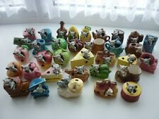 More details for vintage kitsch mouse in ornaments  x 34  cheese cake barrell shoe drum car pie