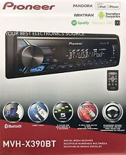 NEW Pioneer MVH-X390BT Single DIN Bluetooth In-Dash Digital Media Car Stereo