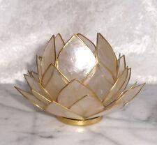 Lotus Atmospherisches Licht Capiz naturell groß
