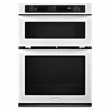 Kitchenaid Architect 30 Quot White Microwave Wall Oven Combo