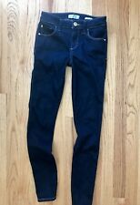 Guess Mid Rise Skinny Jeans Dark Wash 25