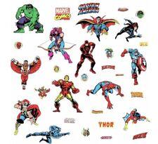 RoomMates Marvel Classics 31teilig Wandtattoo Sticker Wand  Wandkleber Aufkleber