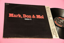 GRAND FUNK 2LP MARK DON & MEL ORIG ITAIAN 1972 EX !!!!!! GATEFOLD LAMINATED COVE