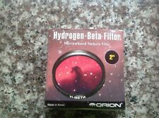 New listing Orion 2 inch H-Beta narrowband nebula filter, new in protective case.