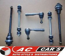 Steering front end kit tie rod ends sway bar links