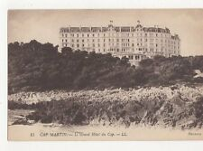 Cap Martin Grand Hotel du Cap Vintage Postcard  206a