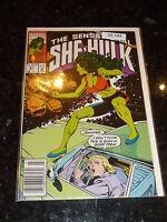 THE SENSATIONAL SHE-HULK Comic - Vol 2 - No 41 - Date 07/1992 - Marvel Comic BC