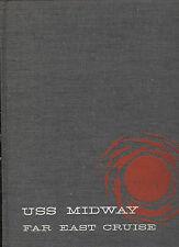 USS MIDWAY CVA 41 CV 1962 Far East Cruise Book Navy Cruisebook