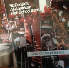 McDonald's All-American High School Band  Live Vinyl Record Factory Sealed