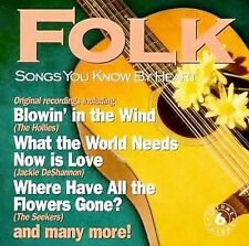 Songs You Know by Heart: FOLK (CD)