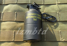 MK3A2 Dummy Smoke Grenade Shape Lighters Windproof Lighter Model Toys Keychain
