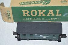 RARE WAGON  VOITURE PASSAGER   D 1209 ROKAL TT  TRAIN BOITE PERSONENWAGEN DB 4