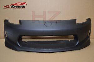 FRONT BUMPER AMS GT LOOK FOR NISSAN 350Z Z33 BLACK PRIMED UK STOCK