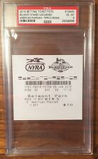 2015 American Pharoah Belmont Stakes Betting Tote Ticket $10 Win Uncashed  PSA 6