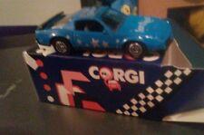 CORGI DIECAST MODEL CAR PONTIAC FIREBIRD BLUE SCHWEPPES SOFT DRINKS