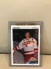1990/91 UPPER DECK PAVEL BURE YOUNG GUNS ROOKIE CARD #526.