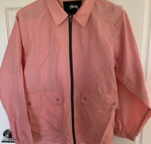 Stussy Pink Coach Jacket