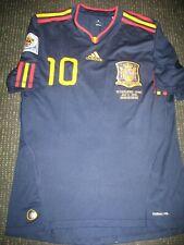 Fabregas Spain 2010 WC FINAL Jersey Barcelona Espana Camiseta Arsenal Chelsea M