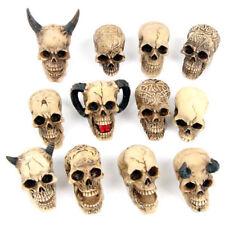 12 Totenkopf Sammelfiguren / Gothic / Halloween