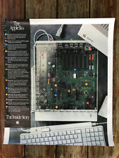 "Large Apple Computer IIGS ""The Inside Story"" Poster - Rare"