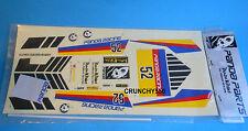 Panda Pandamonium Decal Sticker Sheet 454326 Vintage RC Thunder Tiger Varicom