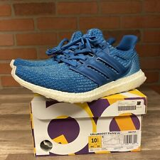 2017 ADIDAS ULTRABOOST 3.0 PARLEY LIMITER NIGHT NAVY BLUE SZ 10.5 SNEAKERS SHOES