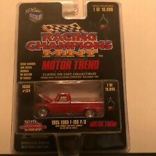 1/64 RACING CHAMPIONS MINT MOTOR TREND #134 1965 FORD F-100 PICKUP RED