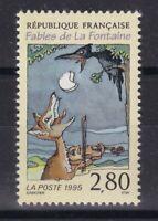 France année 1995 Fables de La Fontaine Corbeau et Renard N°2961** réf 6860