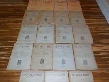 Lot of 19 Various Issues: Le Voile D'Isis, Rare French Occult Magazine