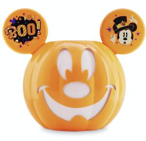 Disney Mickey Mouse Jack-o'-Lantern Halloween Candy Bowl New
