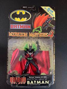 Batman Beyond Photon Armor Action Figure Mission Masters 4 Hasbro 2000