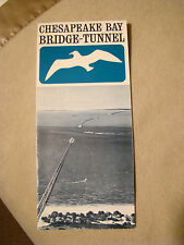 Chesapeake Bay Bridge Tunnel - Brochure - 1964