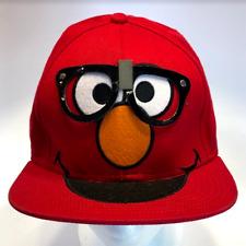 Sesame Street Red Elmo Baseball Hat with Pretend Glasses Snapback (77-7)