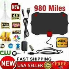 Indoor HD Digital TV Digital TV Antenna 980 Miles Signal Booster Amplifier US