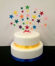 Stars Birthday,Christening, Anniversry cake topper / decoration personalised